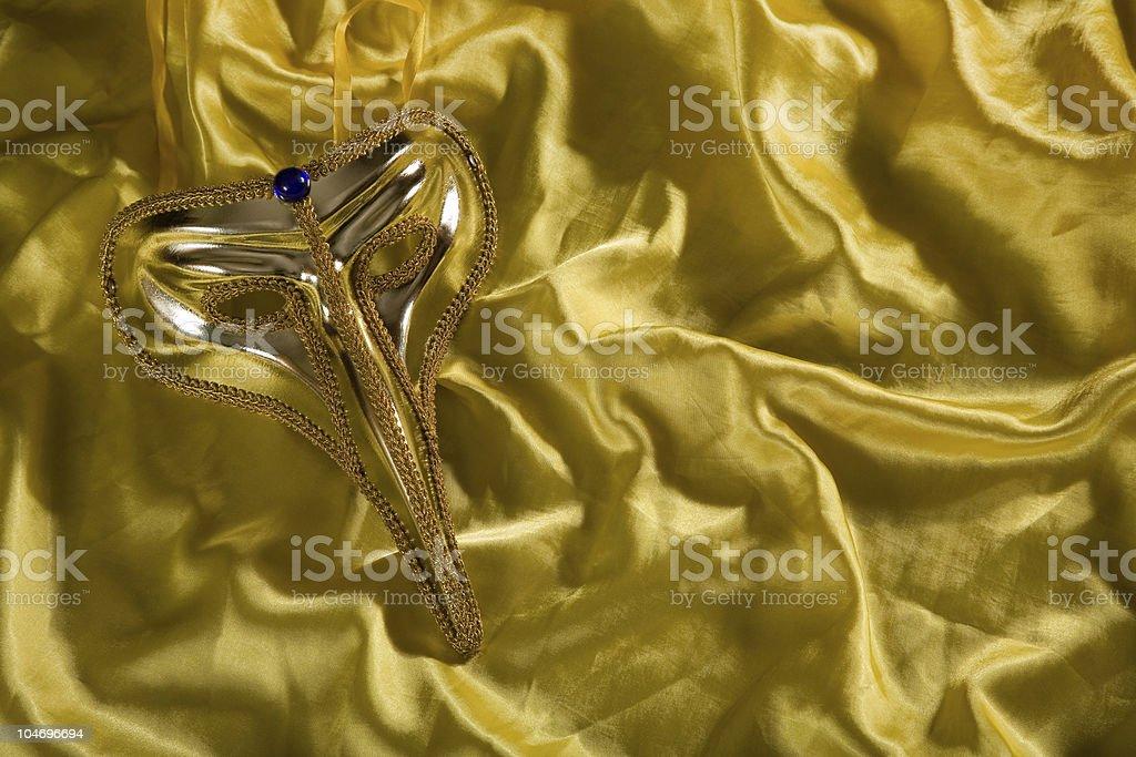 Elegant carnival mask stock photo