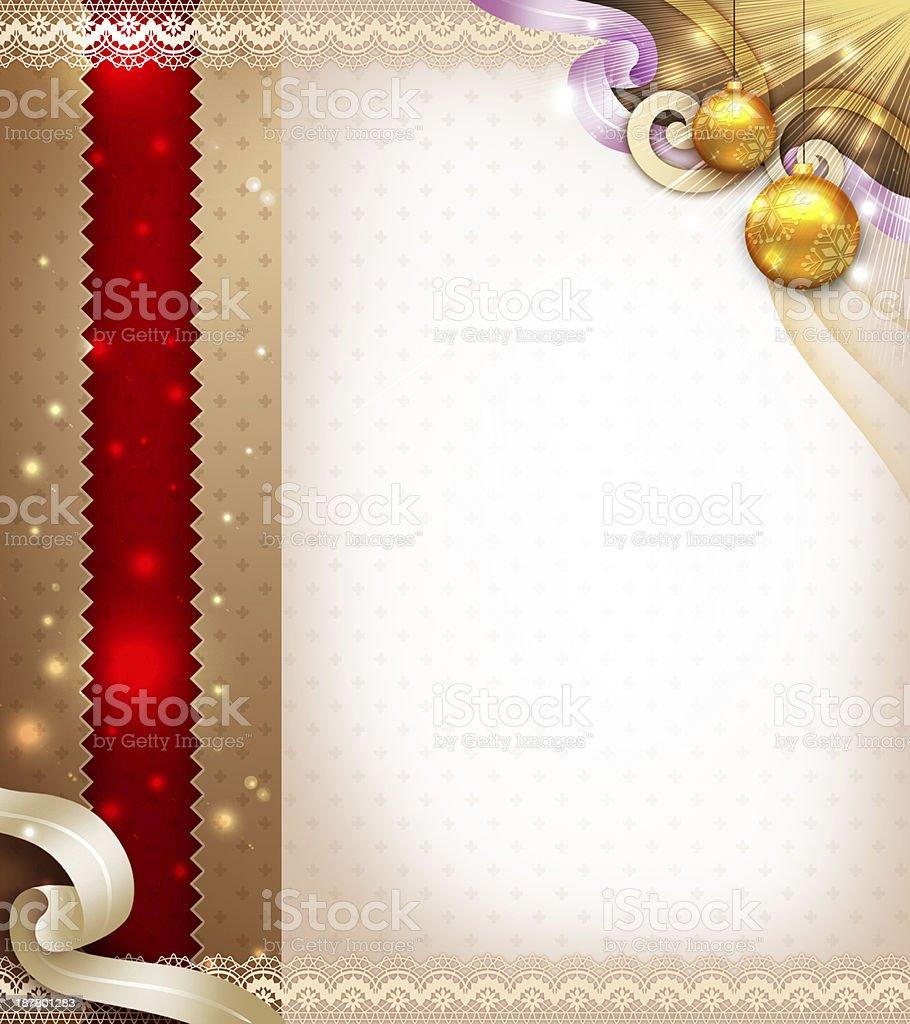 エレガントなクリスマスアイテムのデザイン ロイヤリティフリーストックフォト