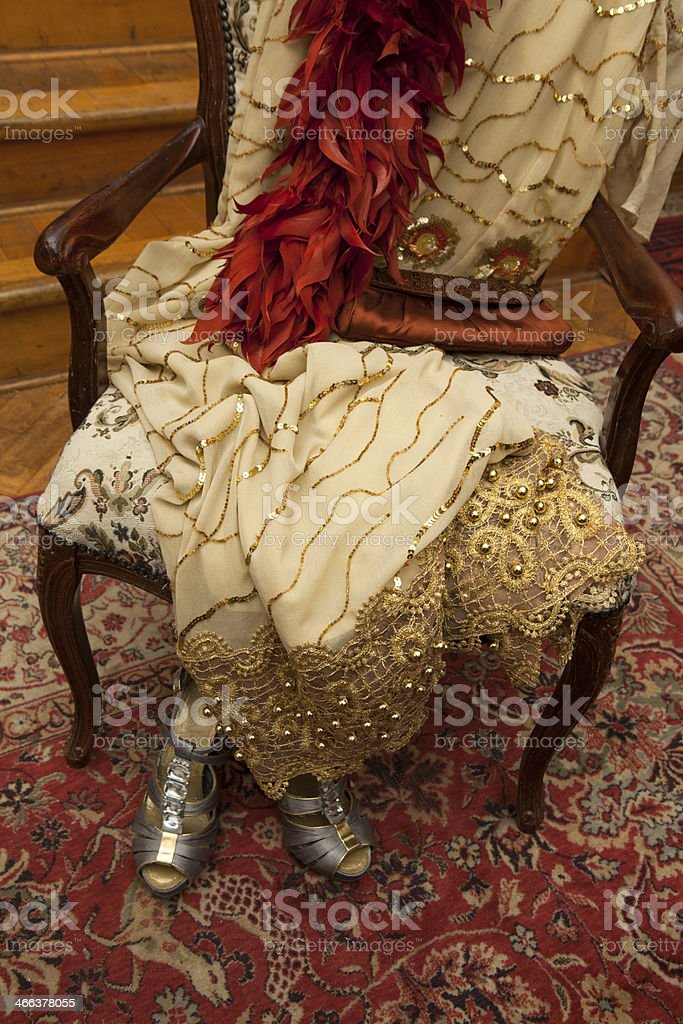 Elegant clothes for a party royalty-free stock photo