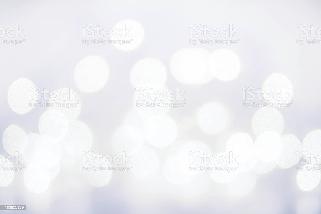 Elegant Defocused  Christmas background with snowflakes, bokeh stock photo