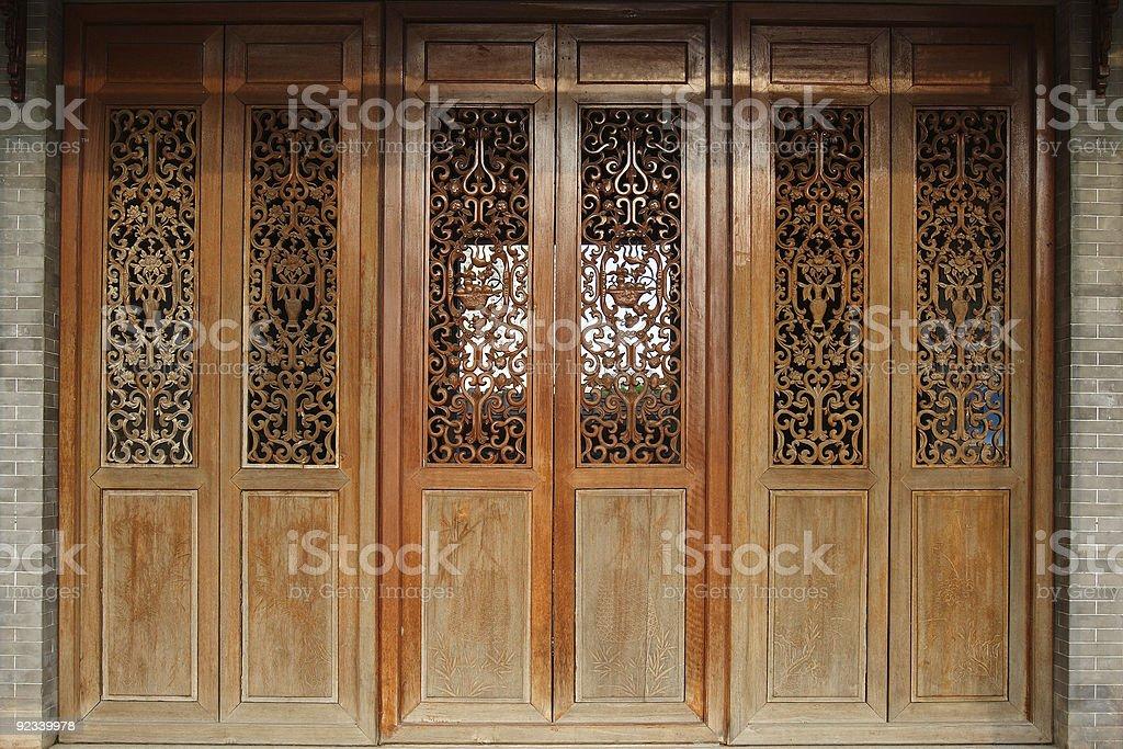 Elegant Door stock photo