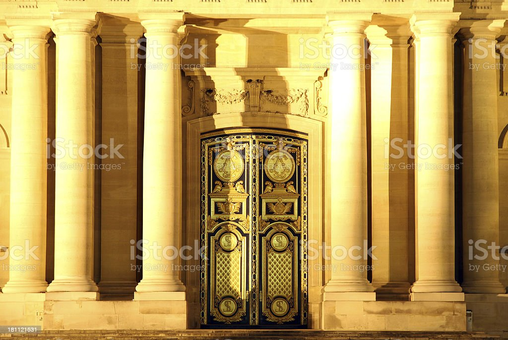 Elegant Doors royalty-free stock photo