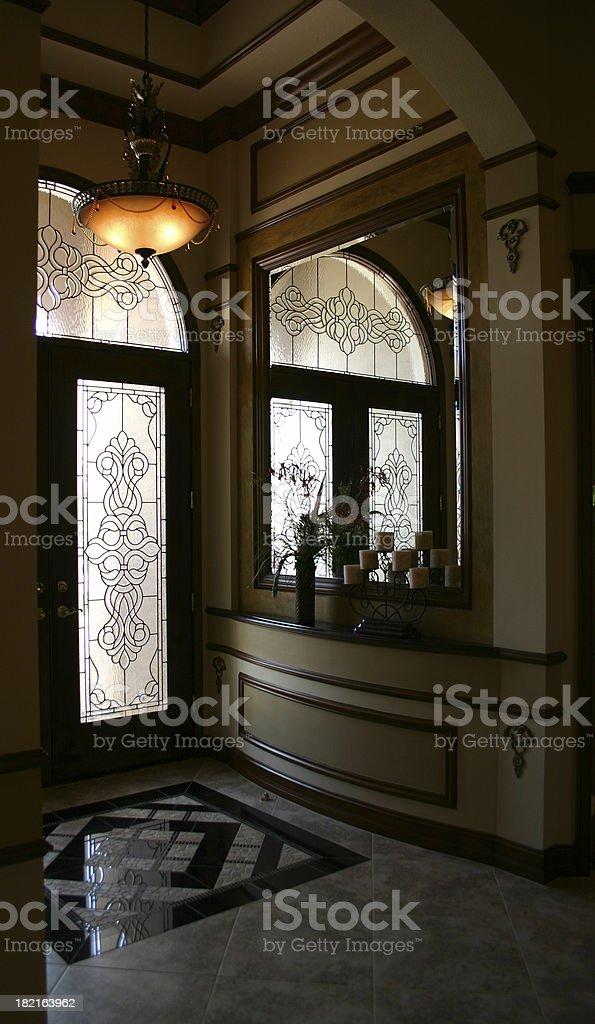 Elegant Entry royalty-free stock photo