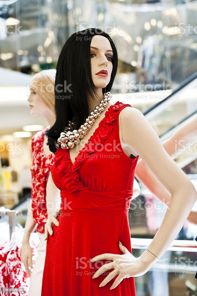 Elegant female mannequin royalty-free stock photo