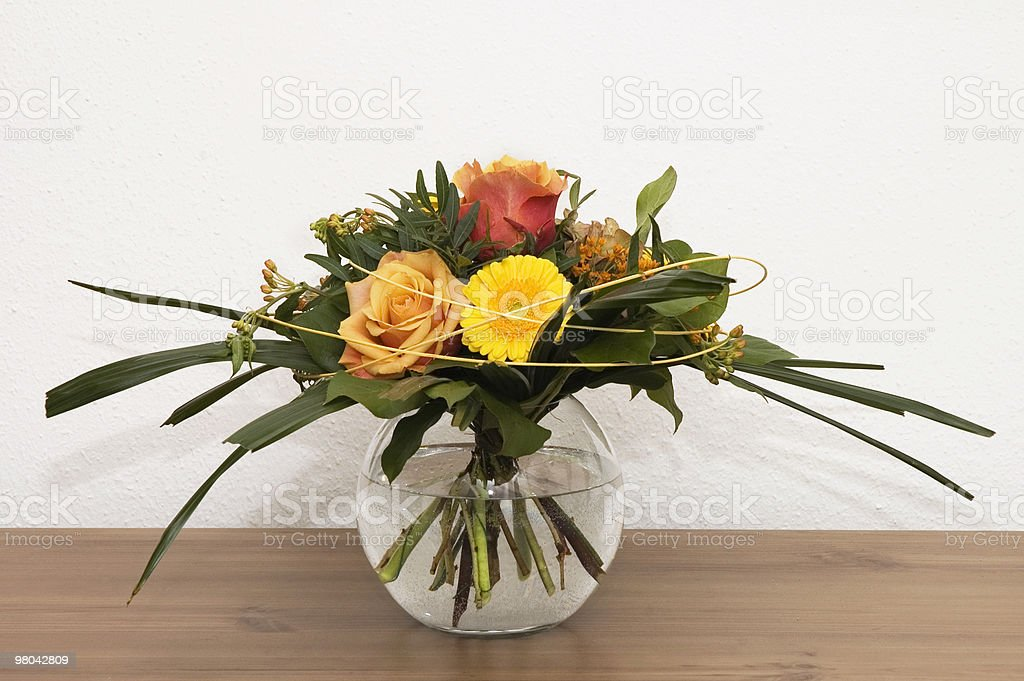 Elegant Flower Bouquet royalty-free stock photo