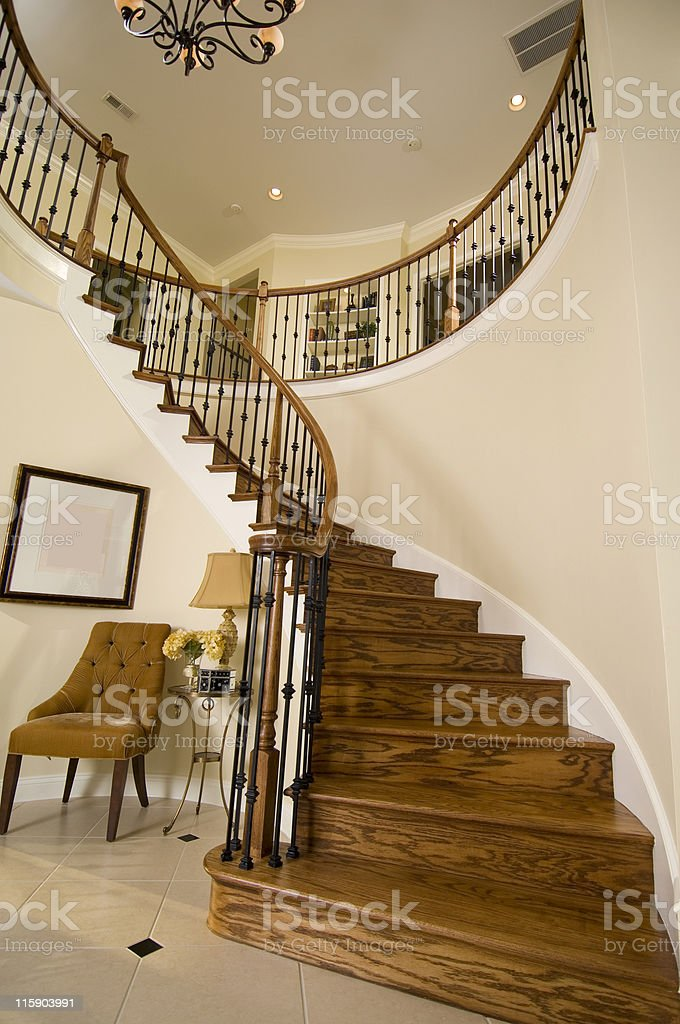 Elegant Foyer royalty-free stock photo