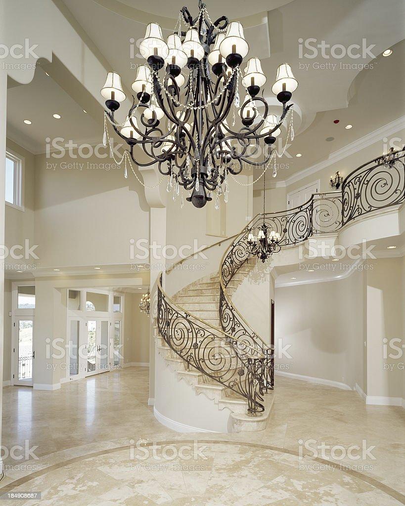 Elegant Foyer stock photo