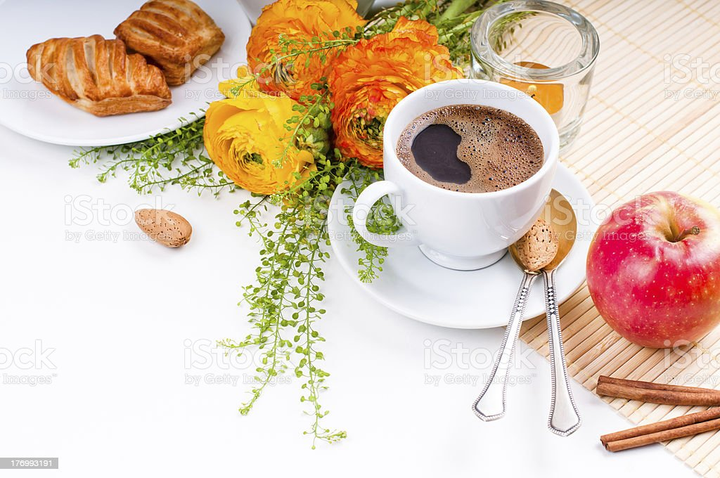Elegant fresh breakfast royalty-free stock photo