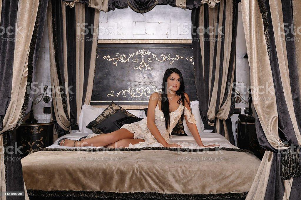 Elegant Girl stock photo