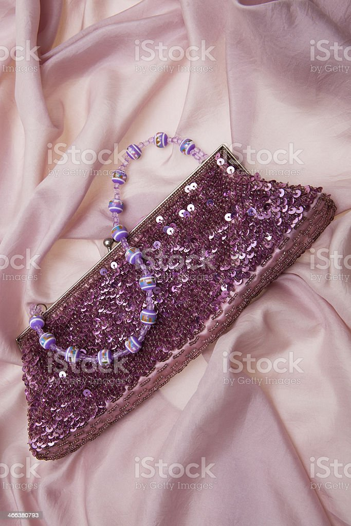 Elegant handbag stock photo