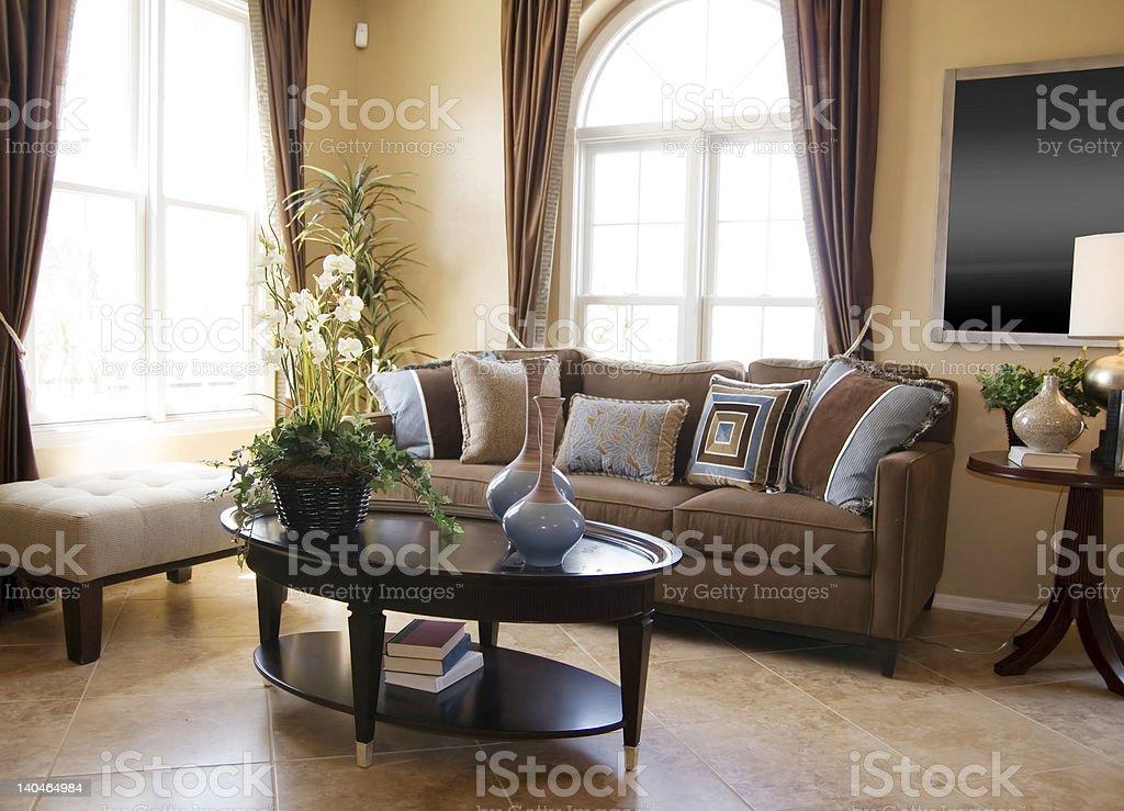 Elegant Home Living Room royalty-free stock photo