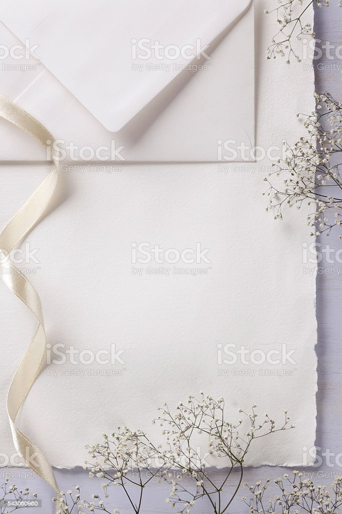 Elegant Invitation stock photo
