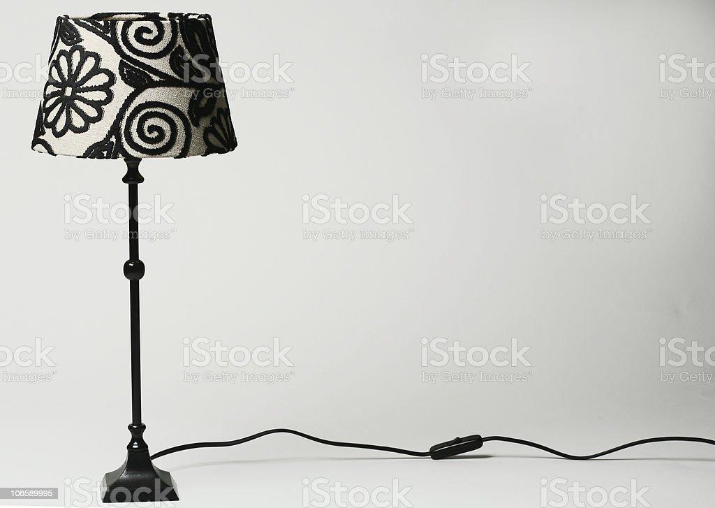 elegant lamp royalty-free stock photo