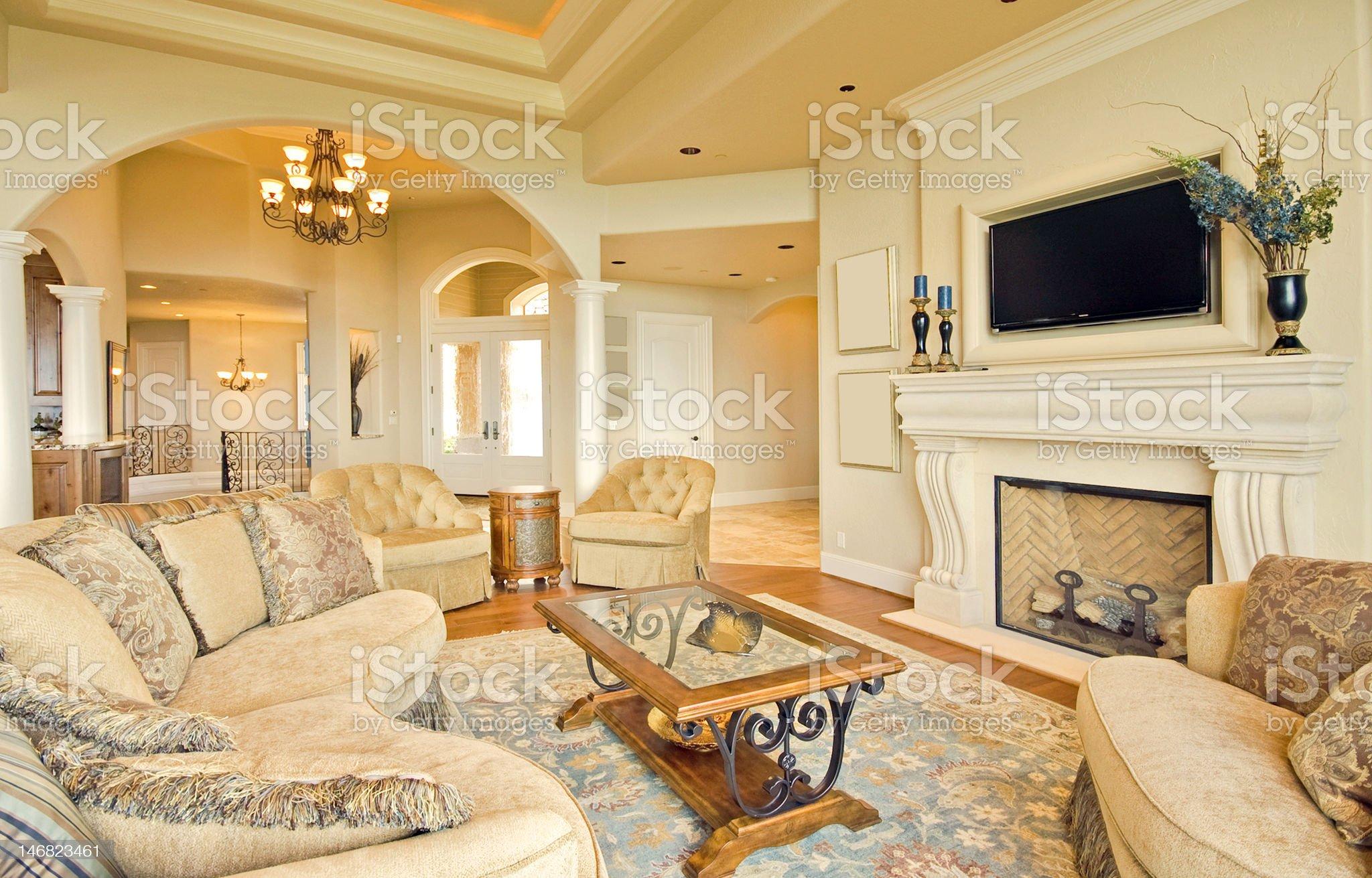 Elegant Living Room royalty-free stock photo