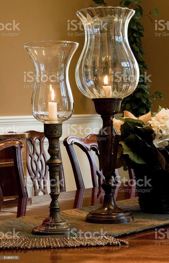 Elegant Living Spaces stock photo