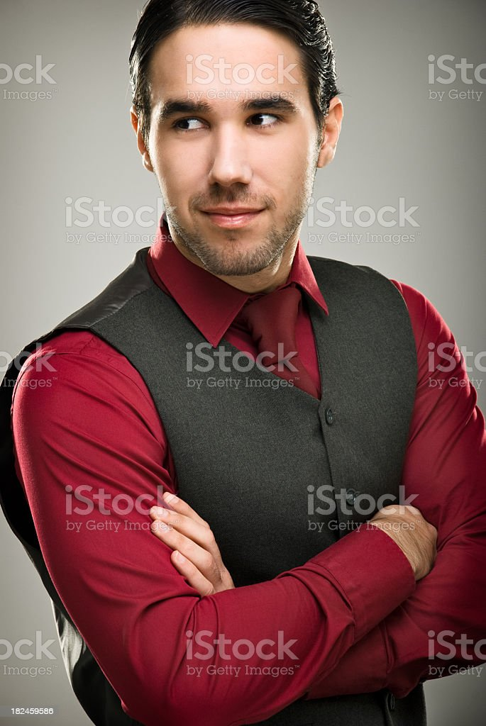 Elegant man royalty-free stock photo