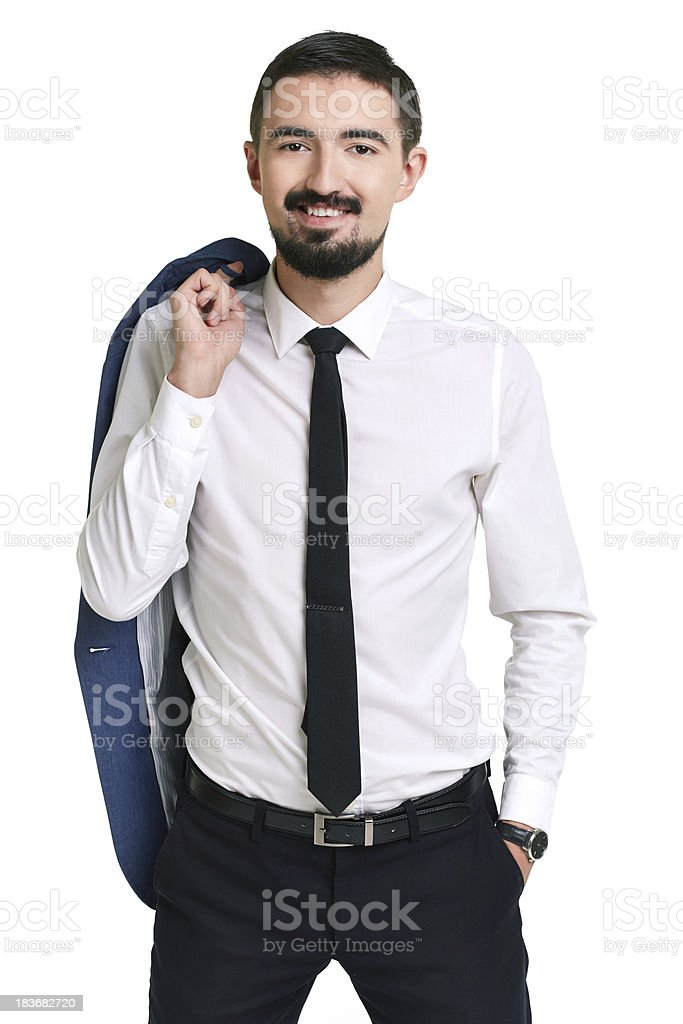 Elegant man royalty-free stock photo
