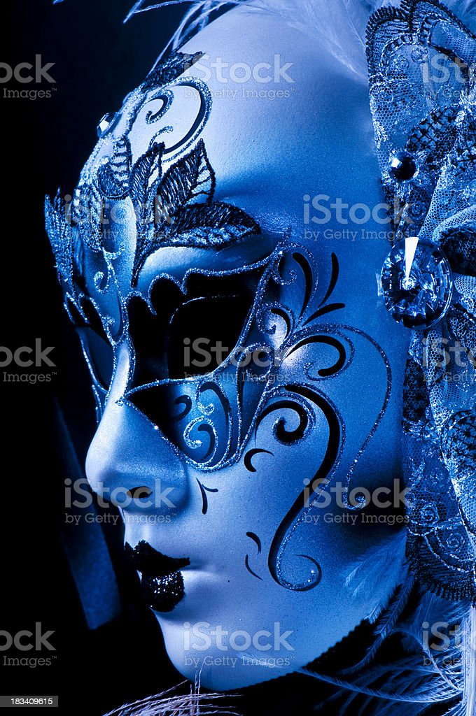 Elegant Marti Gras Mask royalty-free stock photo