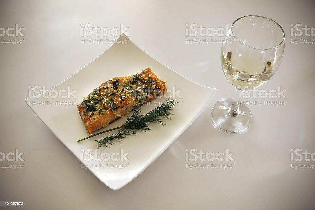 Elegant meal royalty-free stock photo