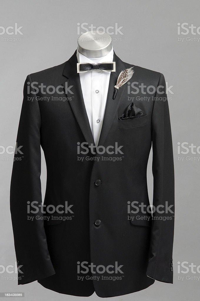 Elegant men suit royalty-free stock photo