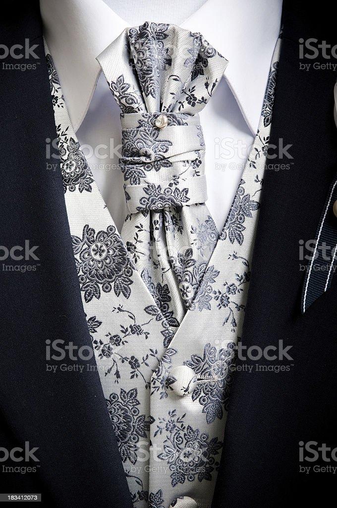 Elegant men suit stock photo