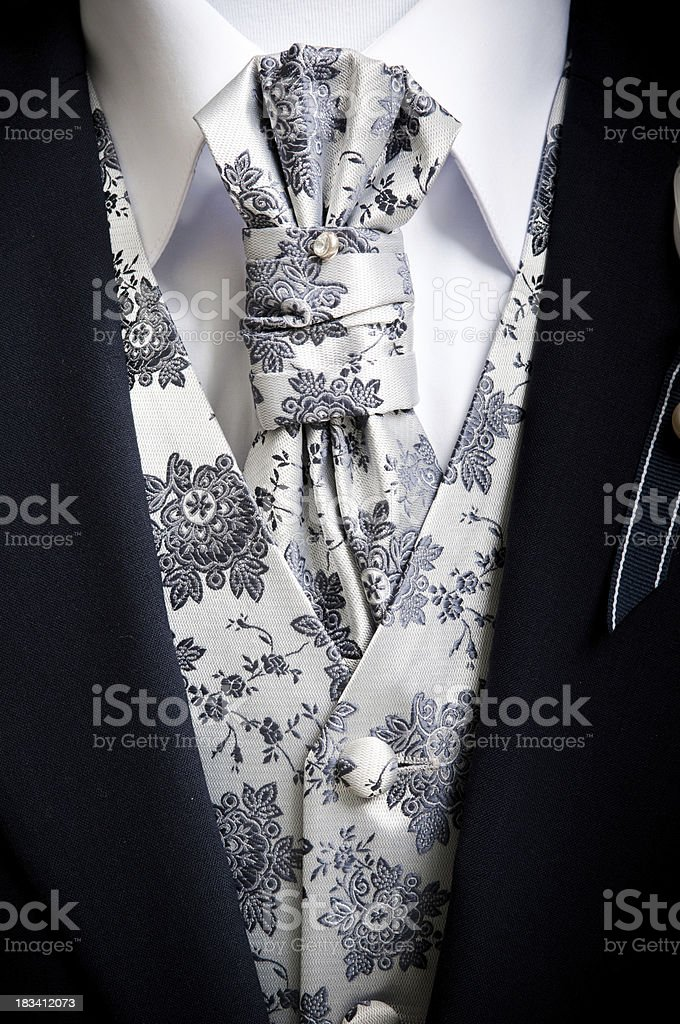 Elegant men suit stock photo