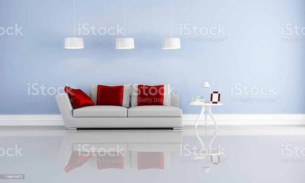 elegant modern interior royalty-free stock photo