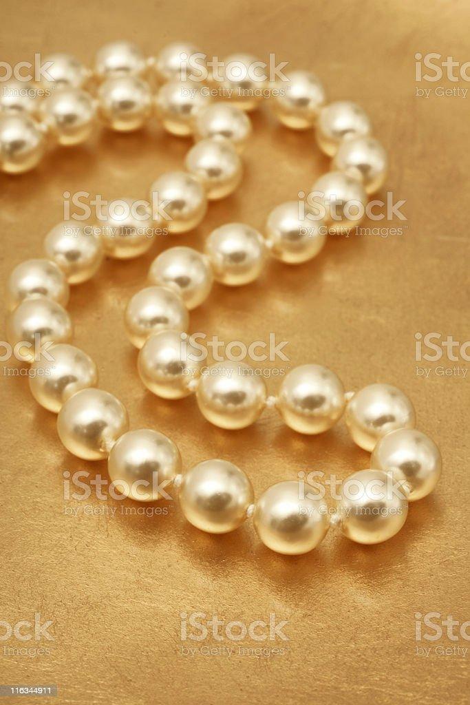 Elegant Pearls royalty-free stock photo