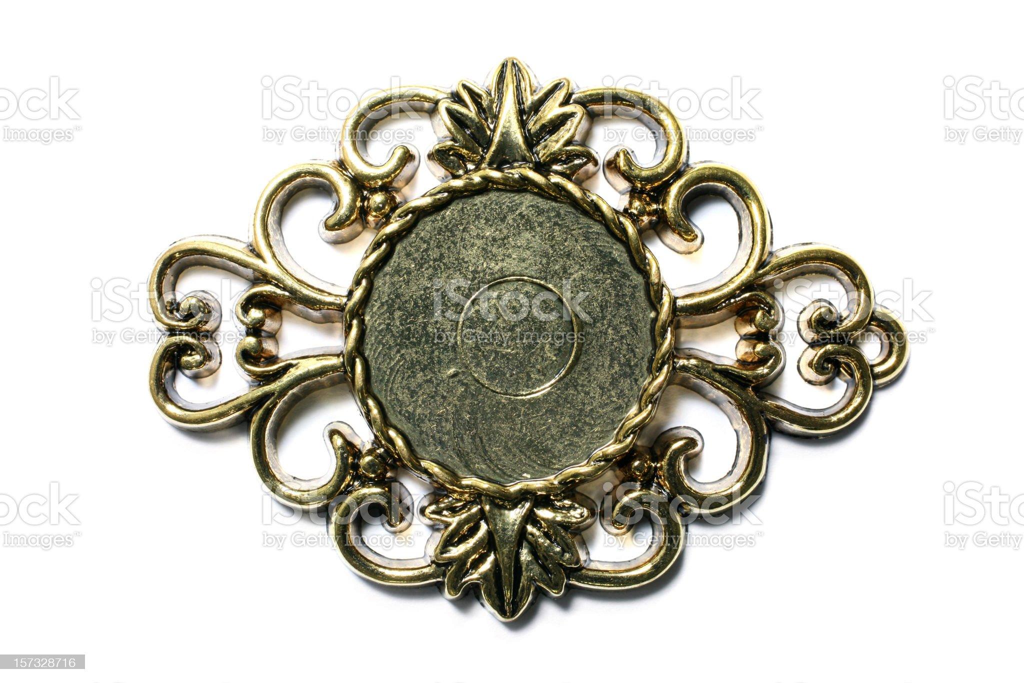 Elegant Plaque royalty-free stock photo