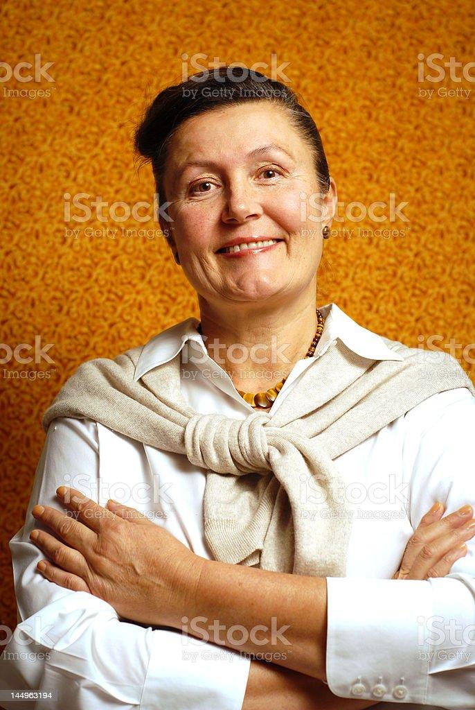Elegant portrait royalty-free stock photo