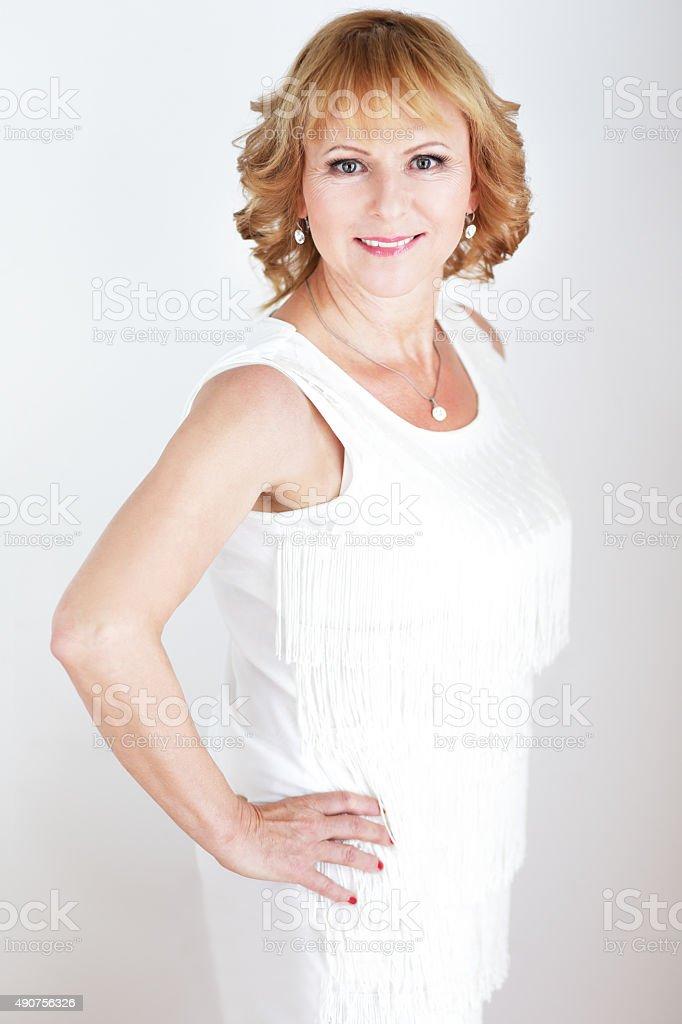 Elegant portrait stock photo