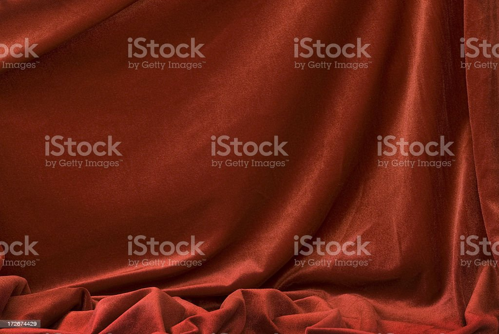 Elegant Red Satin Background royalty-free stock photo
