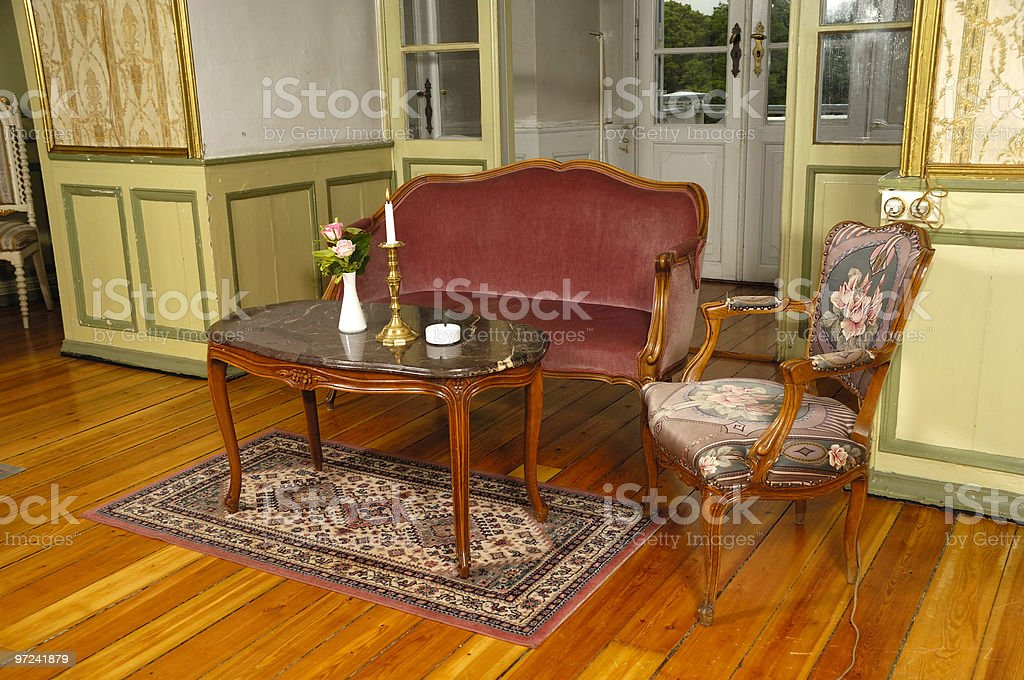 Elegant room royalty-free stock photo