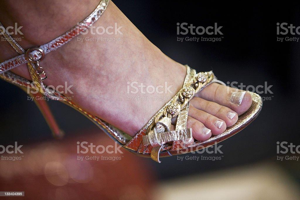 Elegant sandal royalty-free stock photo