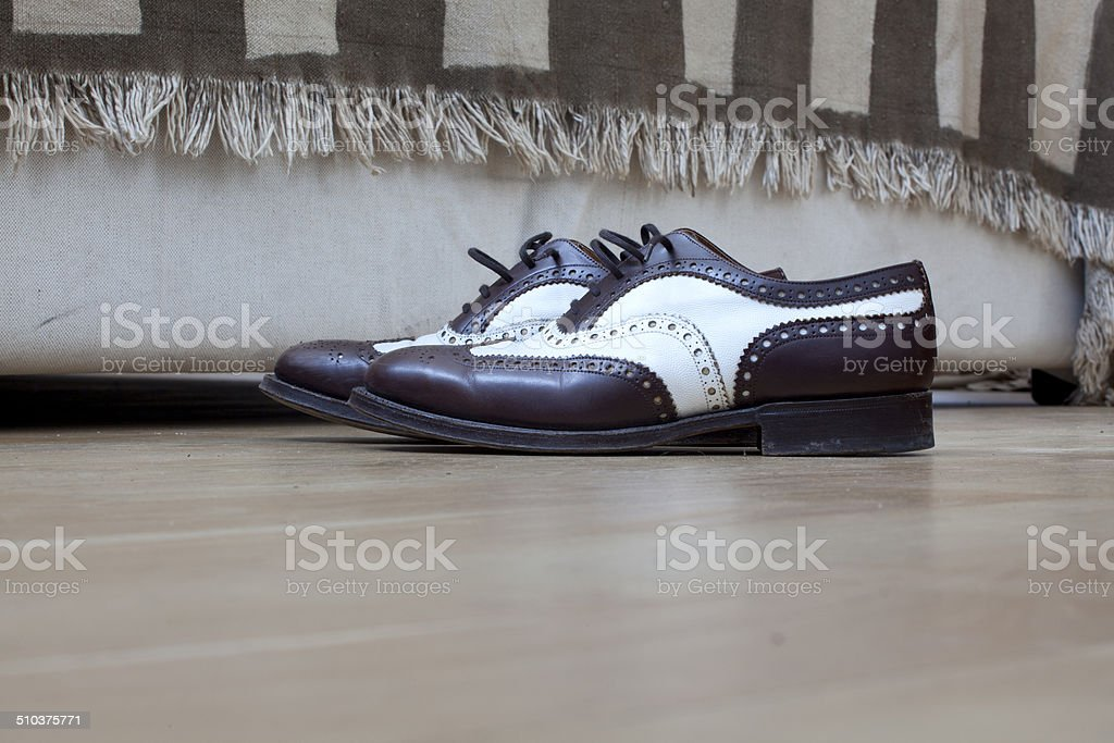Elegant shoes stock photo