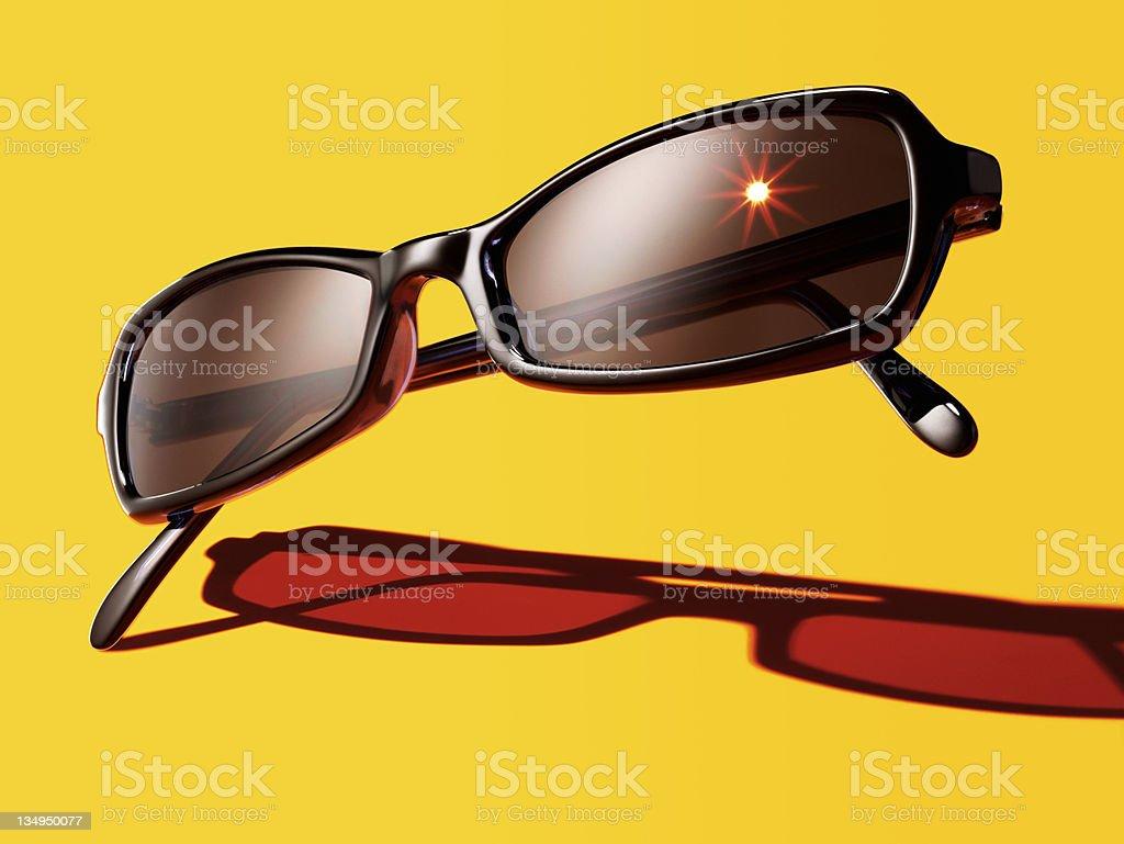 Elegant sunglasses royalty-free stock photo