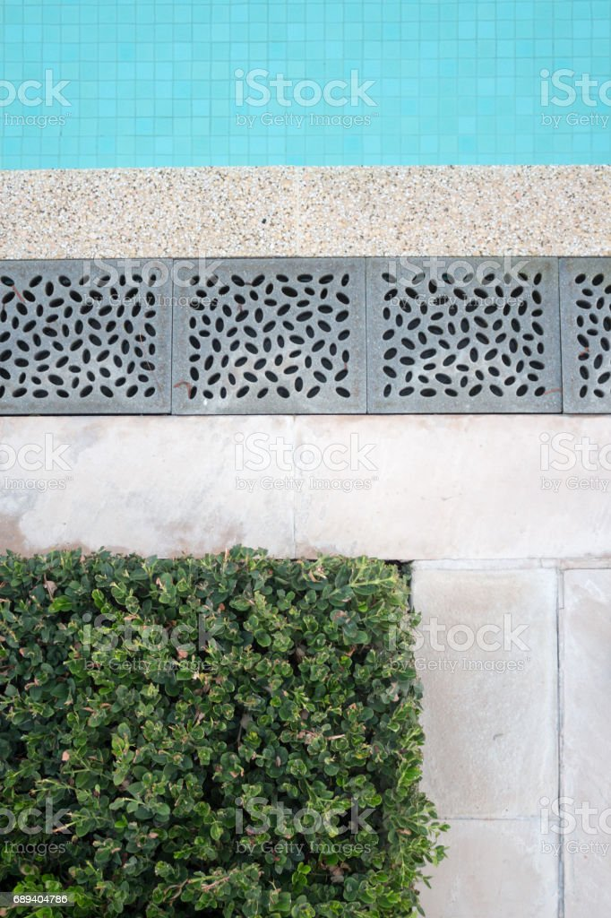 Elegant swimming pool texture stock photo