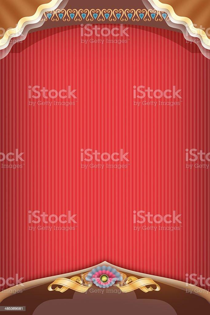 エレガントなテンプレートデザイン、赤の色の背景 ロイヤリティフリーストックフォト