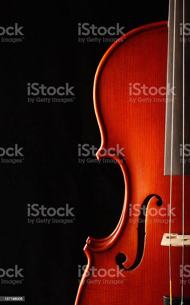 Elegant Violin stock photo