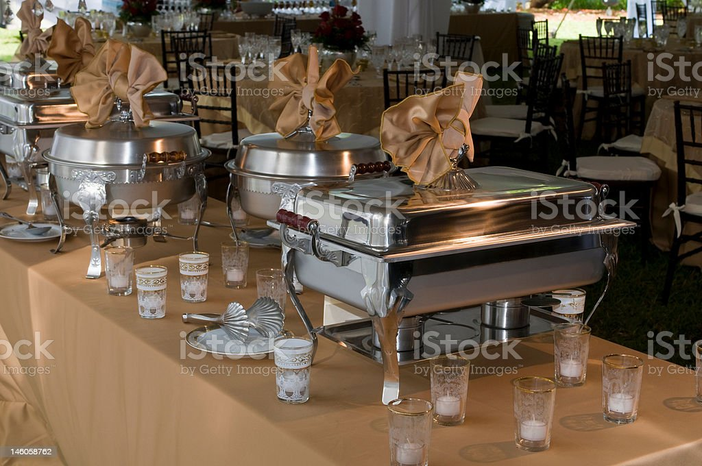 Elegant Wedding Reception Dinner Banquet Party Table