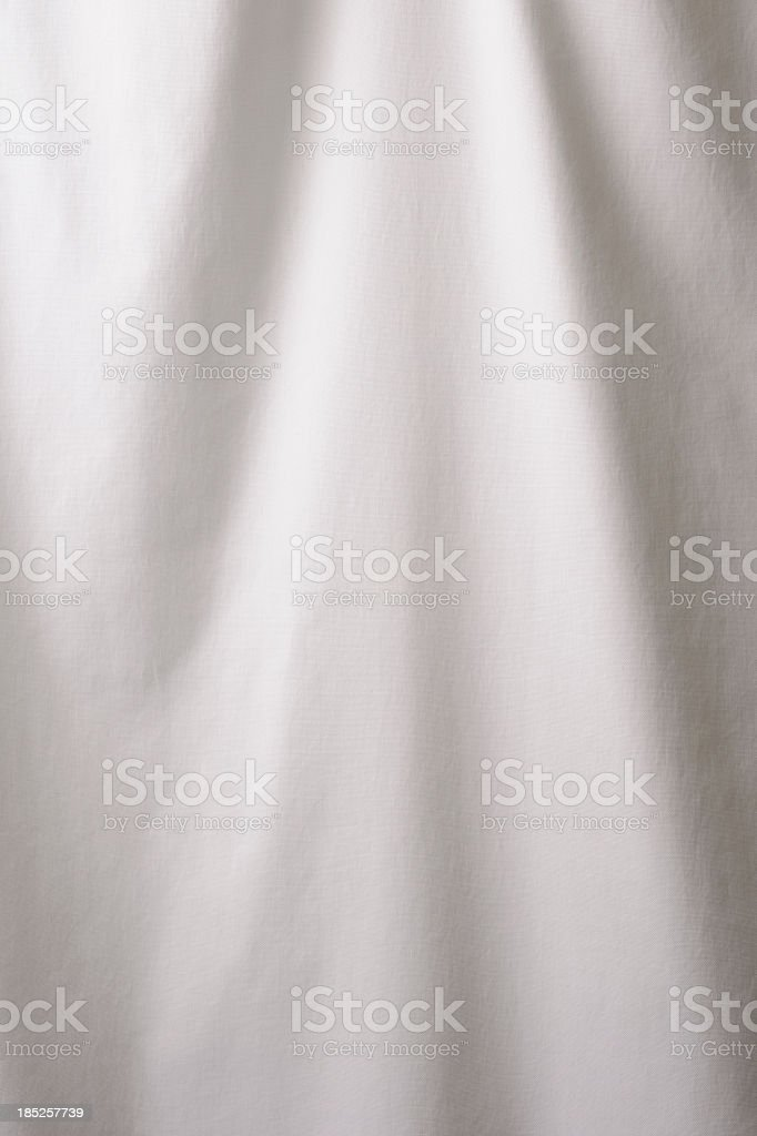 Elegant white drape texture background stock photo