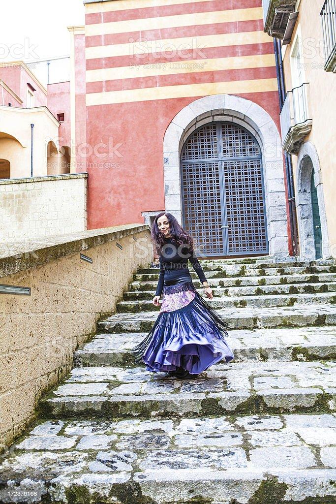 Elegant Woman Looking at Camera royalty-free stock photo