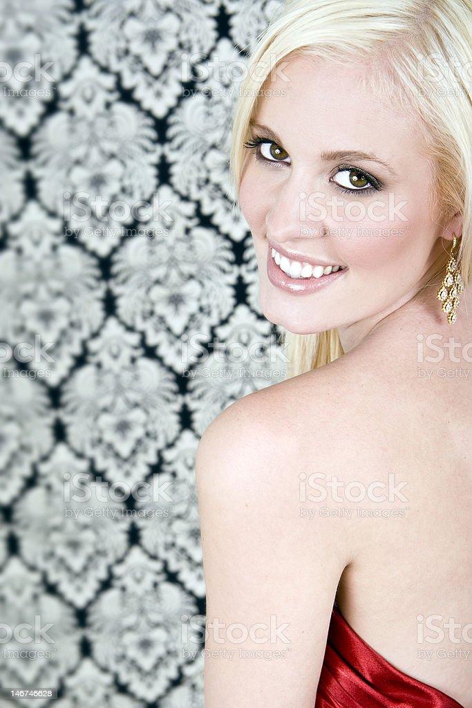 Elegante mujer foto de stock libre de derechos
