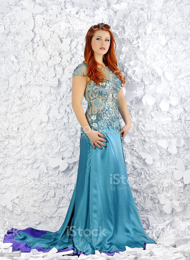 elegant woman royalty-free stock photo