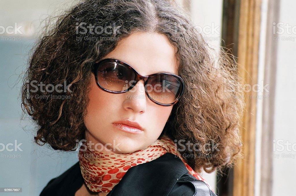 Elegant woman royalty-free stock photo
