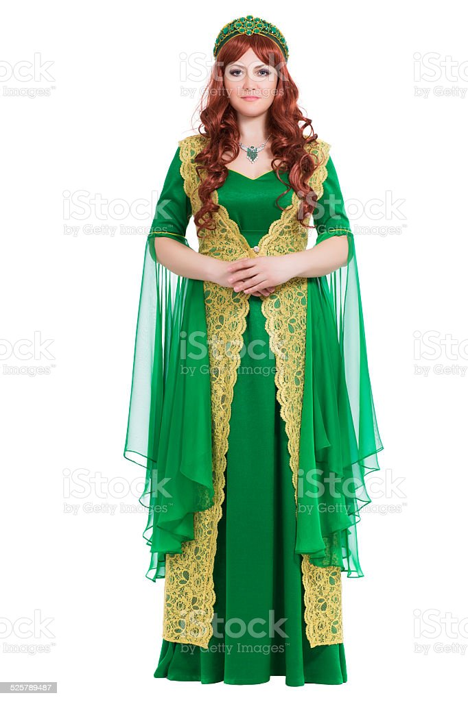 Elegant young woman stock photo