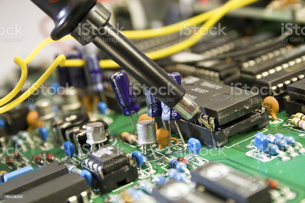 Elektronik stock photo
