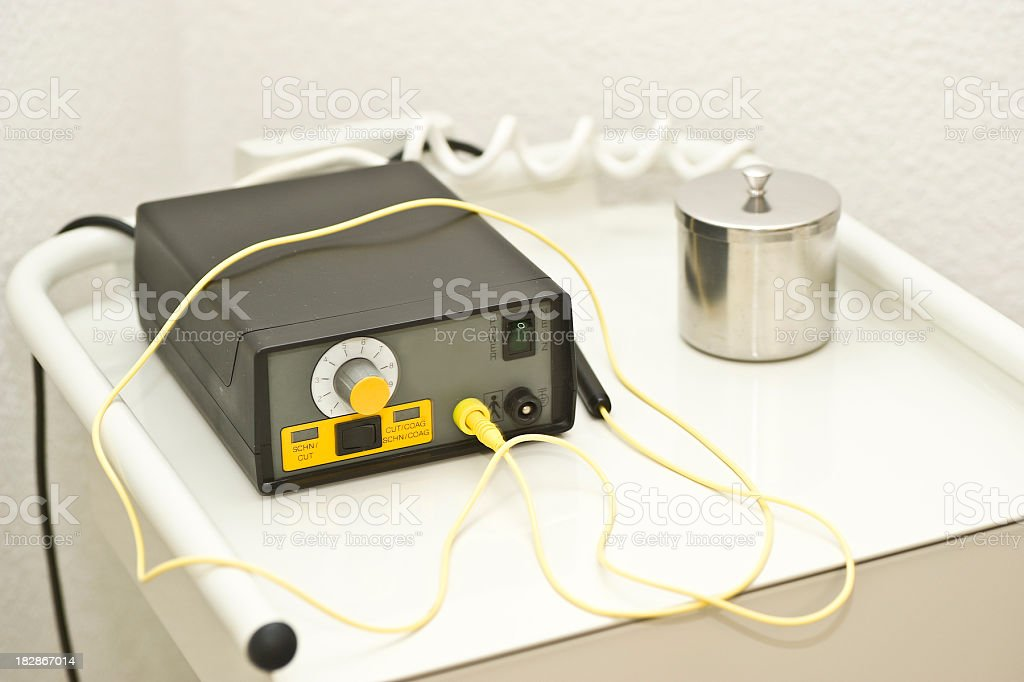 elektrotom stock photo