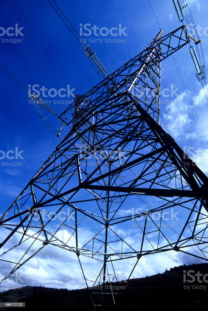 Eleltricity Tower stock photo