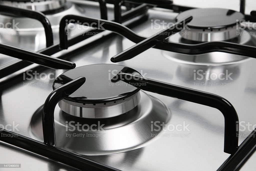 Element burner stock photo